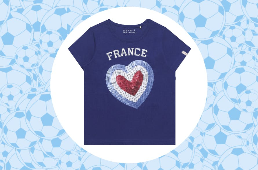T-shirt fillecoupe du monde2018