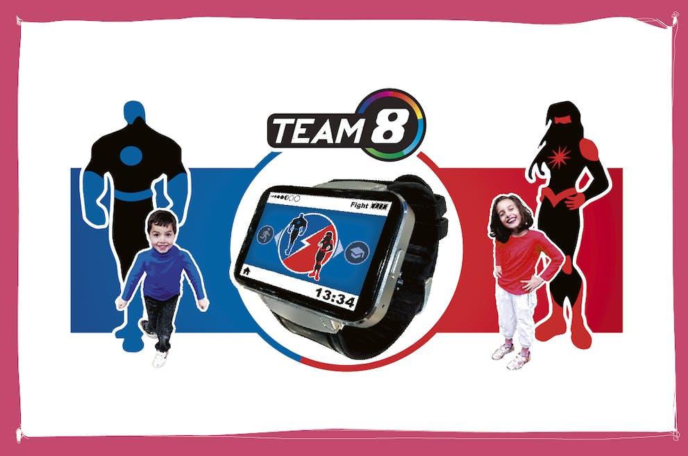 Team8 montre sport enfant