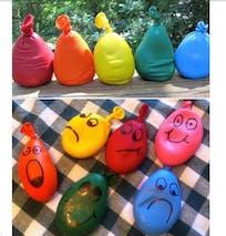Transformer des ballons en bonshommes rigolos