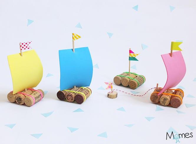 DIY : les Petits radeaux Momes