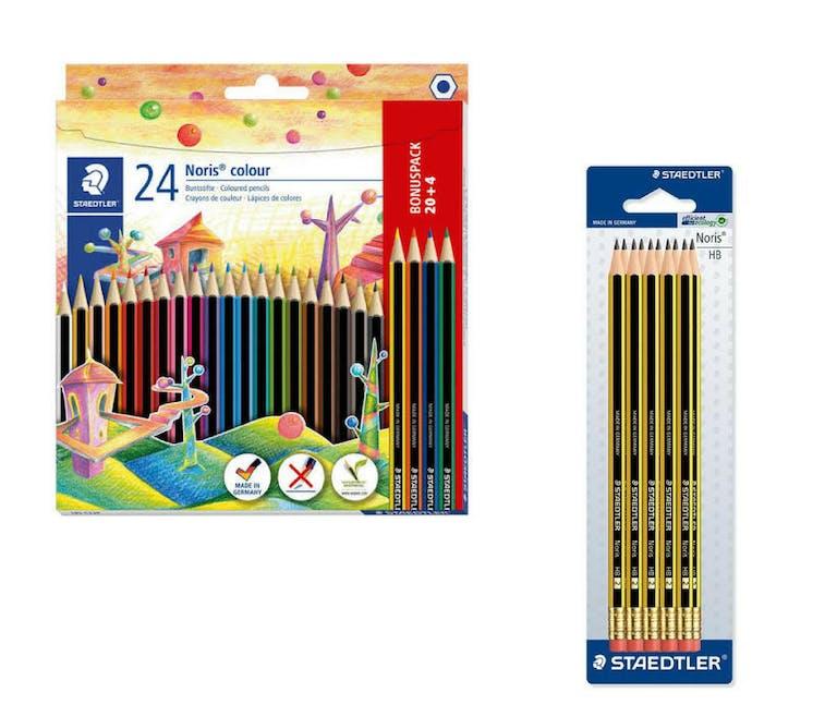 crayons de couleurs écologiques Noris – Staedtler