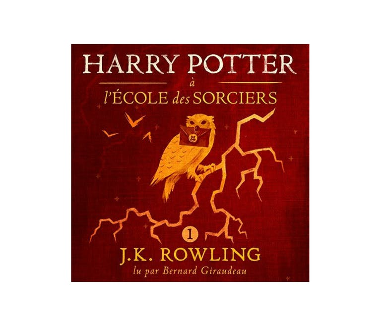 Les sept tomes de Harry Potter