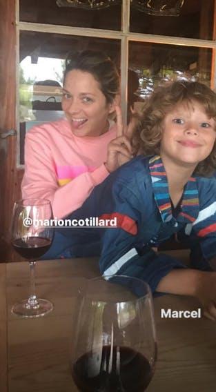 Agé de 7 ans, Marcel est l'ainé de Marion Cotillard et de Guillaume Canet