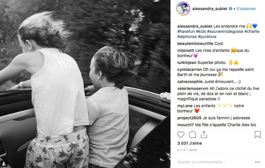 Ceux d'Alessandra Sublet eux préfèrent se concentrer sur les derniers jours de vacances