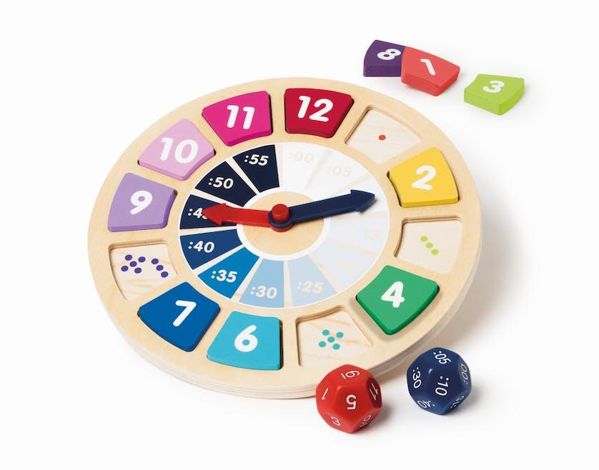 jeu de l'horloge