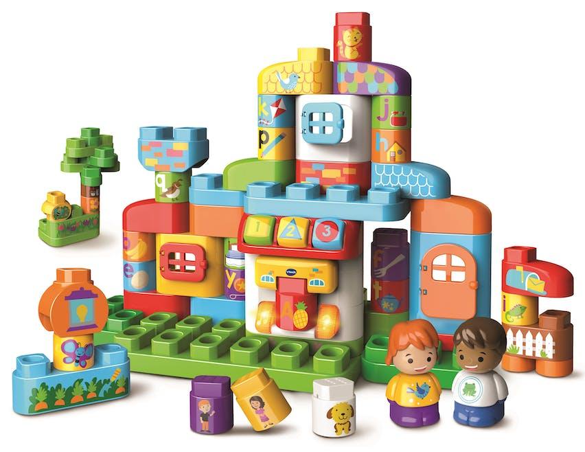 Ma Maison Alphabet interactive BLA BLA BLOCKS de VTECH