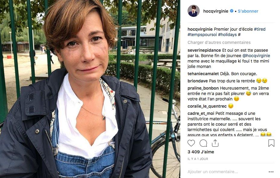 Virginie Hocq a versé sa petite larme : de joie ou de tristesse ?