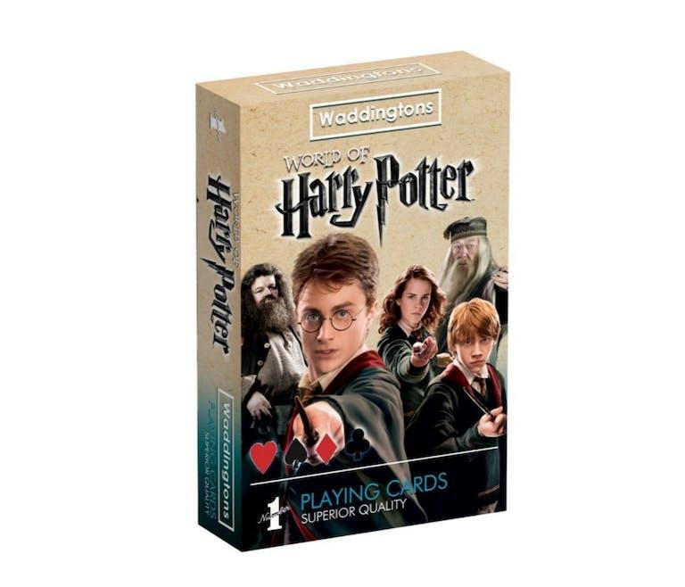 Le jeu de cartes Harry Potter
