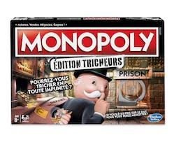 jeu de société Monopoly tricheurs Hasbro