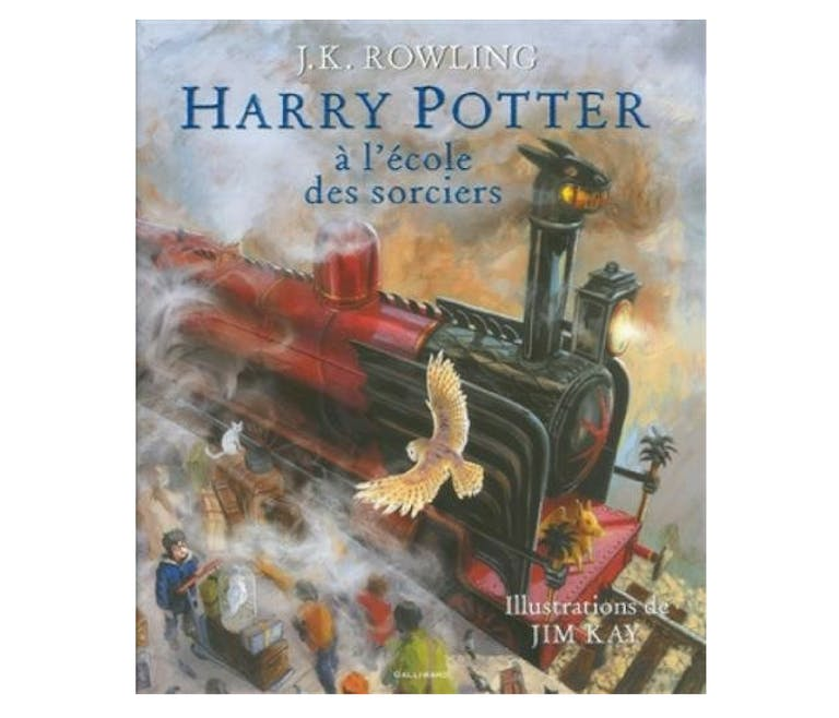 Le Beau-livre collector Harry Potter