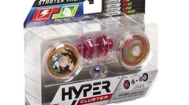 Pack de démarrage Hyper Cluster, yoyo personnalisable Bandaï