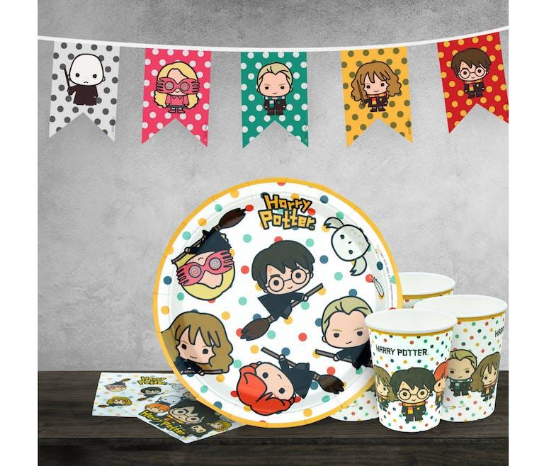 Le pack d'anniversaire Harry Potter en version Kawaï