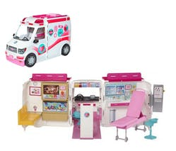 Le véhicule médical de Barbie