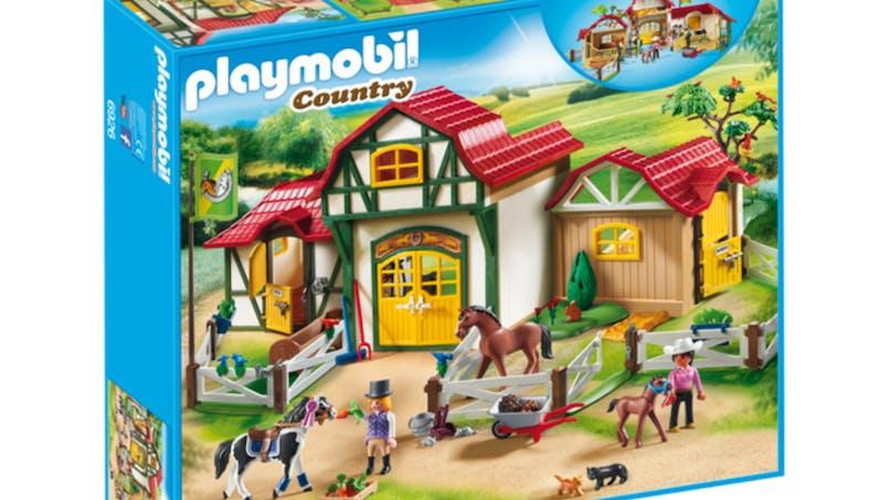 Le nouveau club d'équitation Playmobil