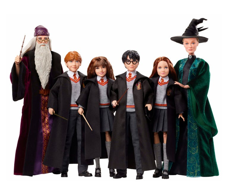 Les personnages d'Harry Potter en version poupée Mattel