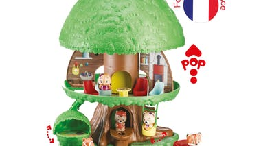 Le nouvel arbre magique des Klorofil avec personnages Vulli