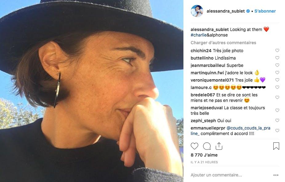 Alessandra Sublet au Puy du Fou, des yeux pleins d'amour