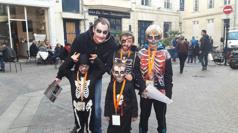 Jeu citizen kids pour Halloween