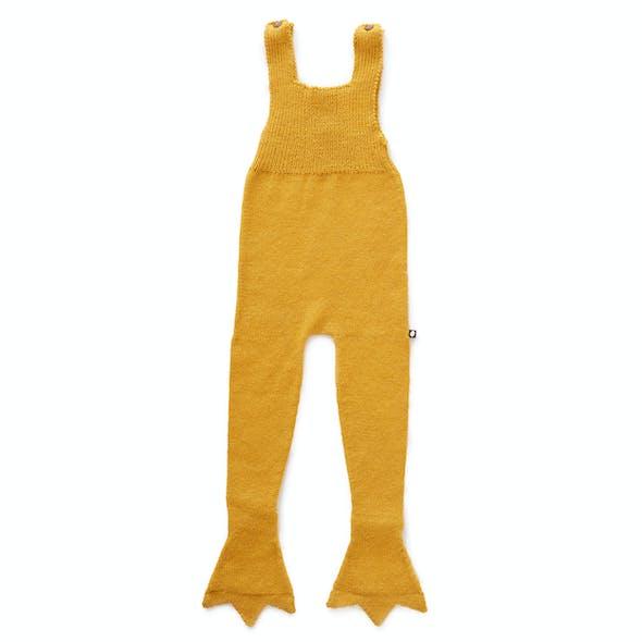 Combi bébé canard jaune moutarde