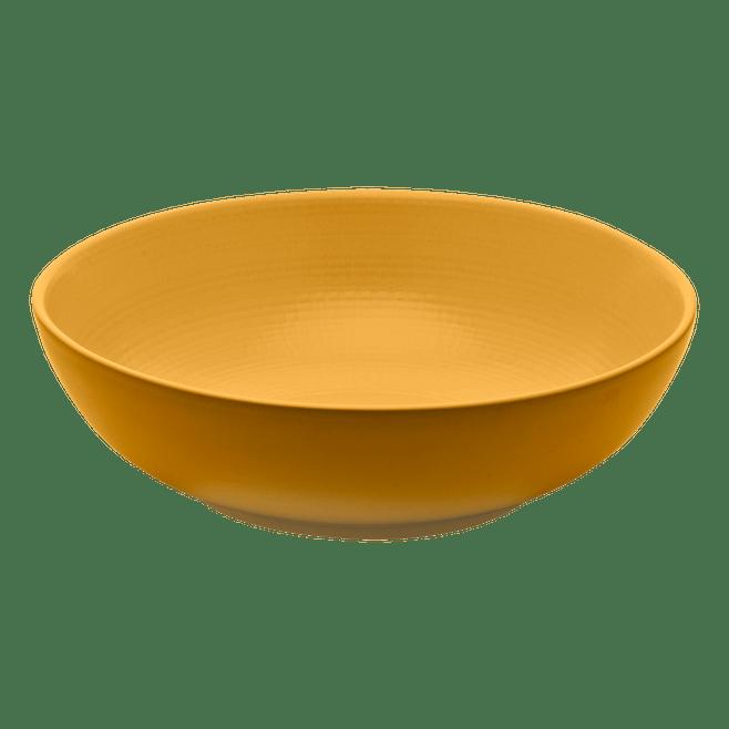 Saladier jaune moutarde