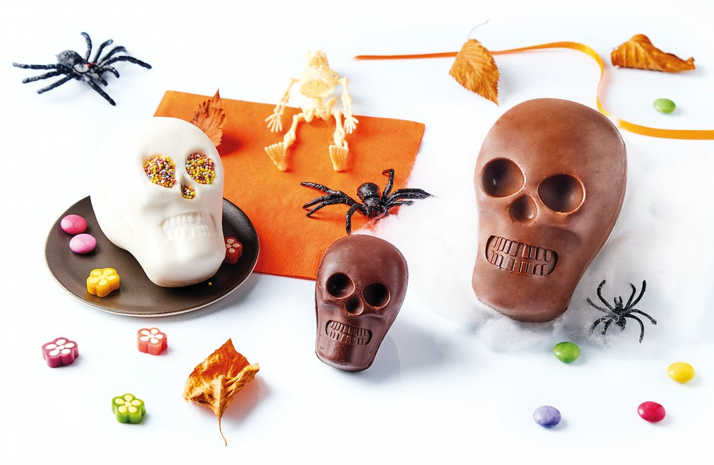 moules à chocolats pour Halloween