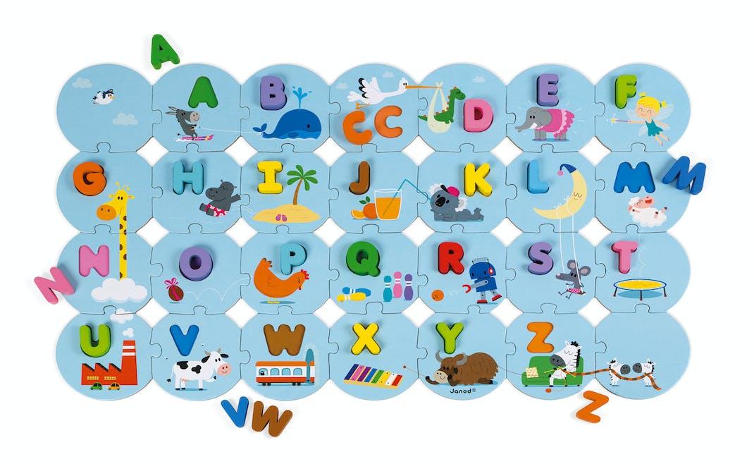 Puzzle J'apprends l'alphabet, Janod