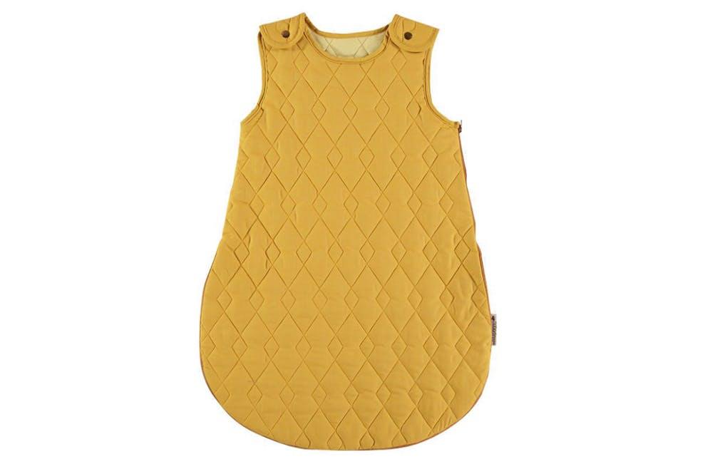 gigoteuse pour bébé jaune moutarde