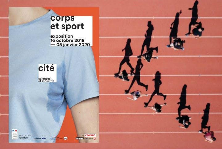 Des images de l'expo Sport et Corps
