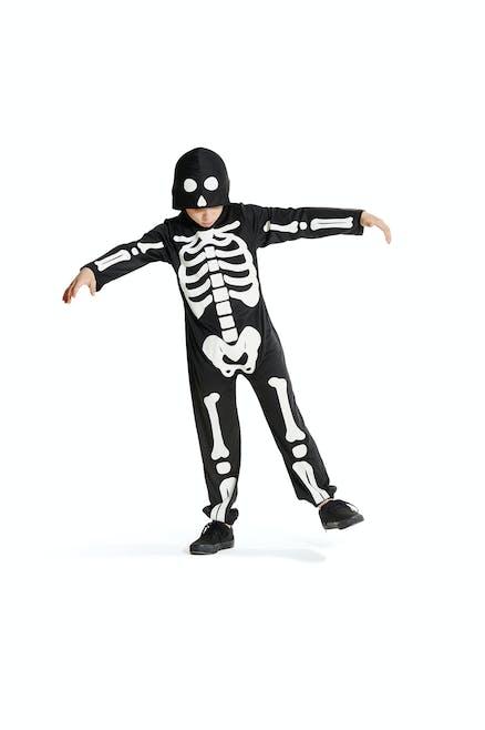 Déguisement de squelette pour Halloween