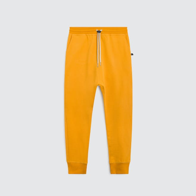 Pantalon Junior jaune moutarde
