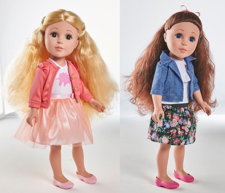 Les poupées Auchan