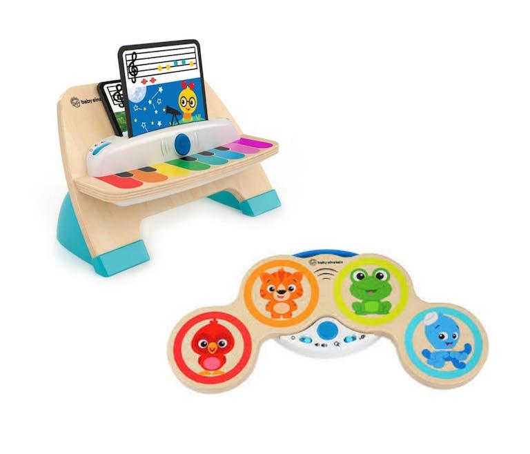 jouets en bois pour l'éveil musical