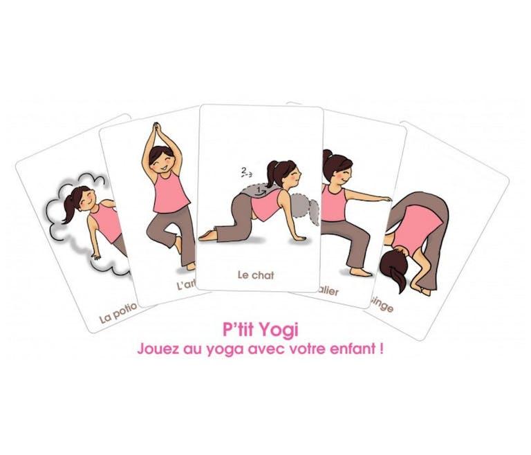 Apprendre le yoga : « Le jeu du P'tit Yogi »