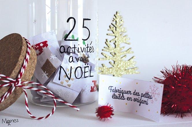 Calendrier de l'Avent : 25 activités à faire en famille avant Noël