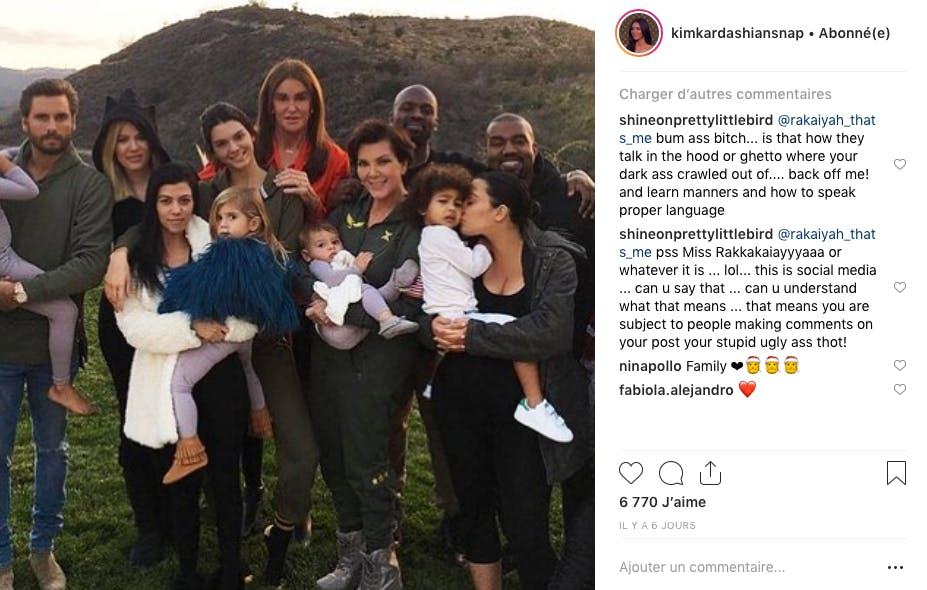 La famille Kardashian / Jenner réunie à l'occasion de Thanksgiving