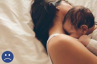 mère et bébé cododo