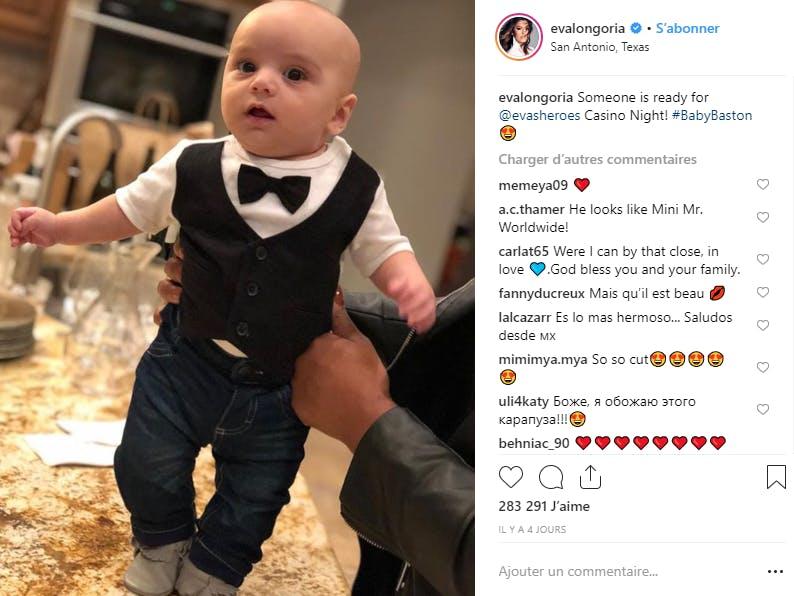 Alerte mignonnerie avec le fils d'Eva Longoria