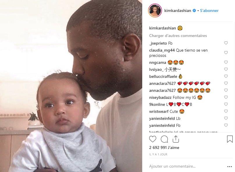Critiqué dans les médias, Kanye West peut se consoler auprès de sa petite Chicago