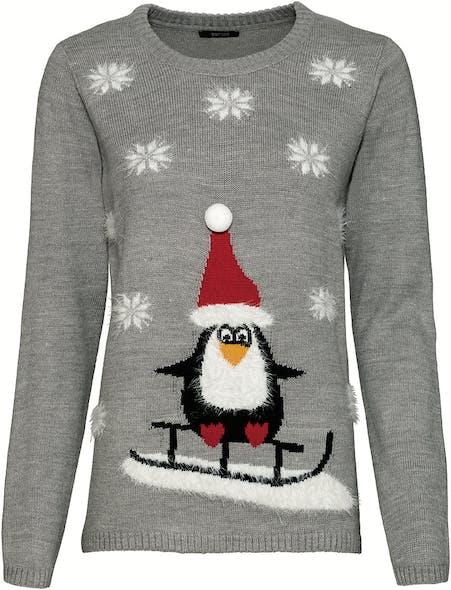 pull de Noël Pingouin Lidl