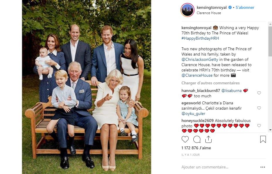 La famille royale britannique version