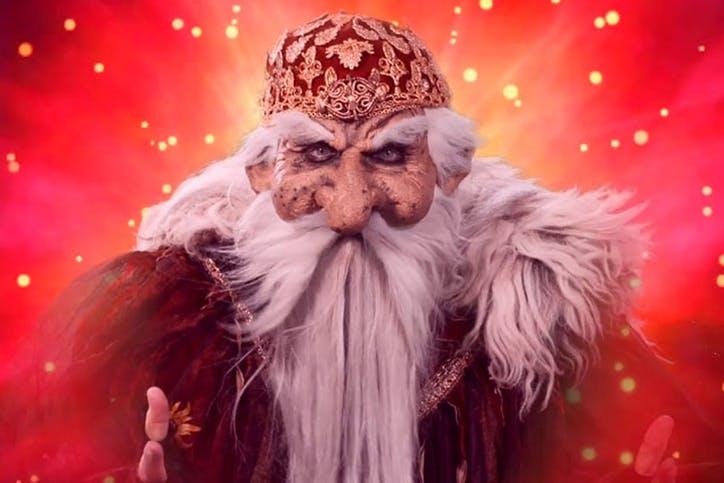 Un personnage digne de Merlin l'enchanteur