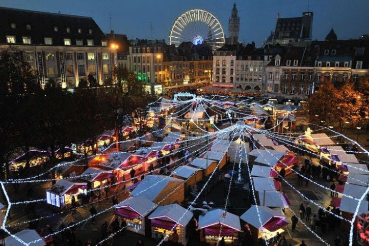 marché de Noël à Lille