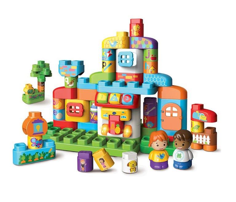 Ma Maison Alphabet interactive - Les Bla Bla Blocks