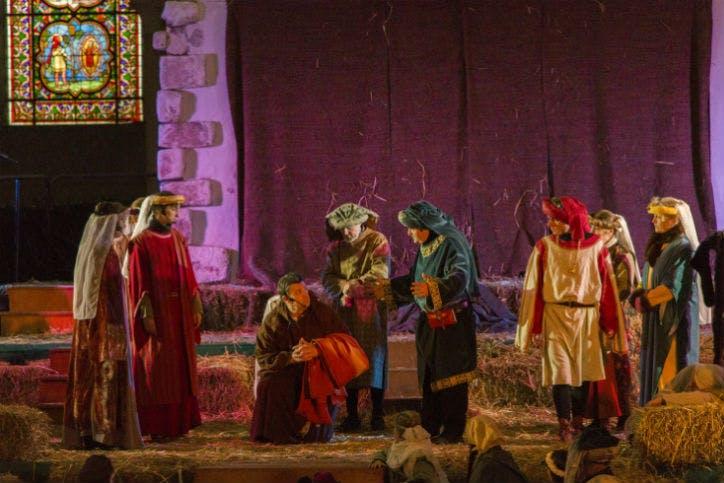 animations médiévales à Provins autour de Noël