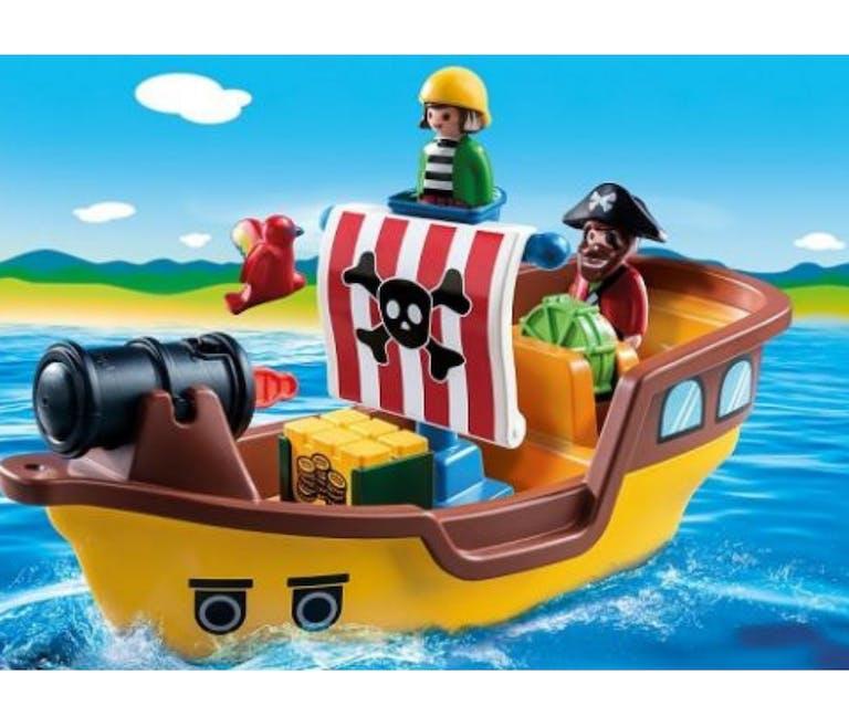 Bateau pirate Playmobil 123