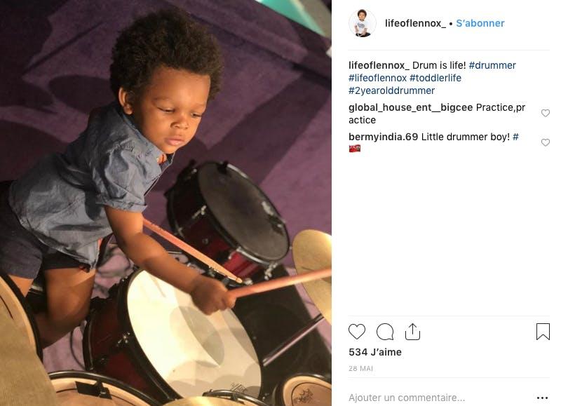 """Dans la catégorie """"Les enfants ont du talent"""", voici Lennox, le génie de la batterie !"""
