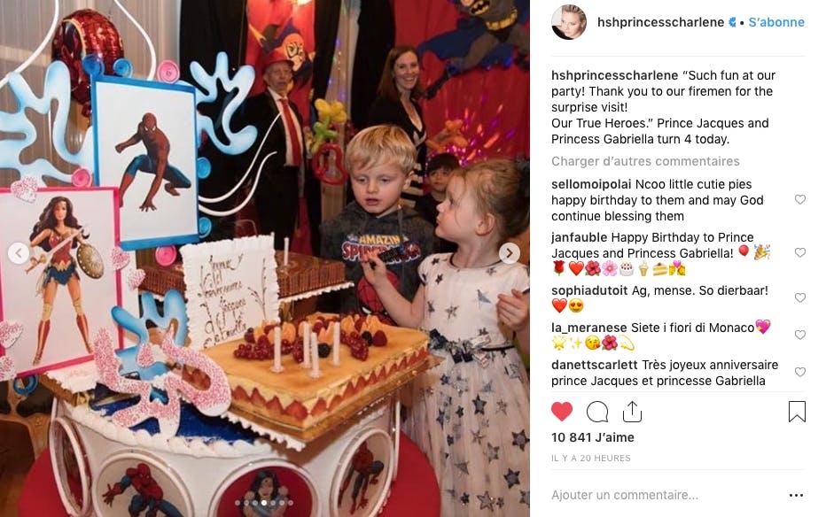 Jacques et Gabriella de Monaco ont fêté leur quatrième anniversaire