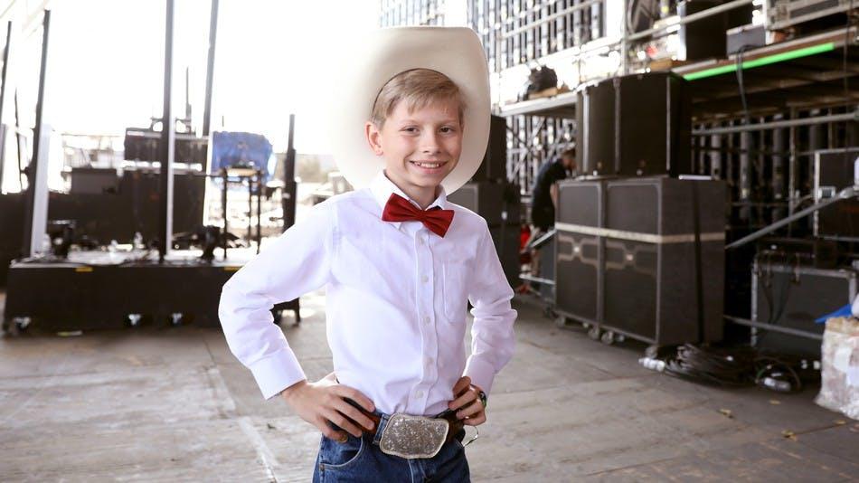 Mason Ramsey, plus connu sous le surnom « Yodeling Boy »