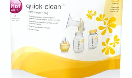 Sachets de désinfection Quick Clean de MEDELA