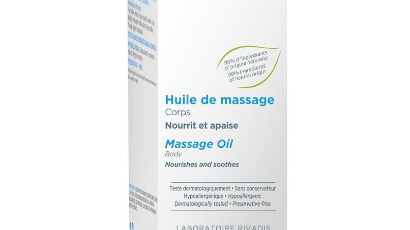 L'huile de massage de RIVADOUCE BEBE